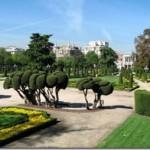 Королевский парк Ретиро в Мадриде