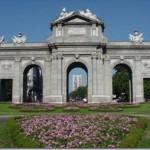 Ворота Алкала в Мадриде