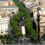 Ла Рамбла – главная улица Барселоны