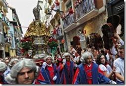 Святой Фермин на фиесте