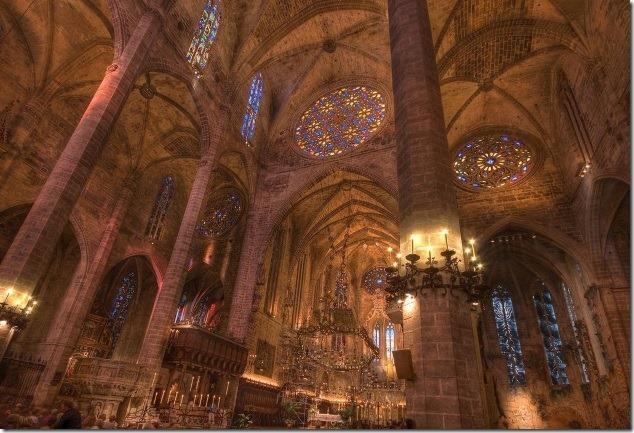 Розетка Кафедрального Собора, Пальма де Майорка