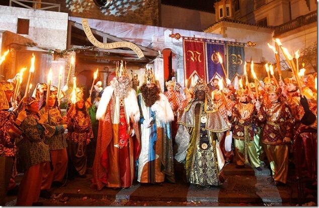 Праздник трех Королей в Аликанте