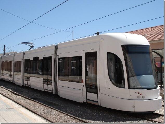 TRAM-городской транспорт в Аликанте