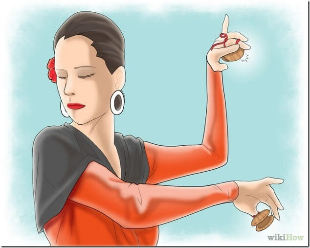 Как играть на кастаньетах
