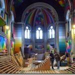 Заброшенную церковь переоборудовали в скейт-парк