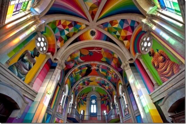 Астурийская церковь превратилась в скейт-парк