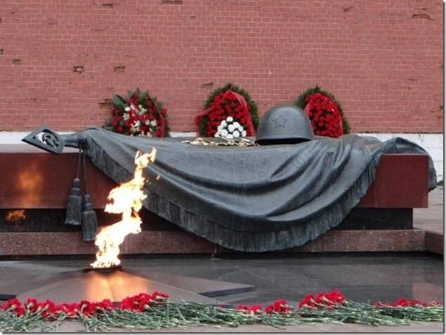 Москва, Вечный огонь