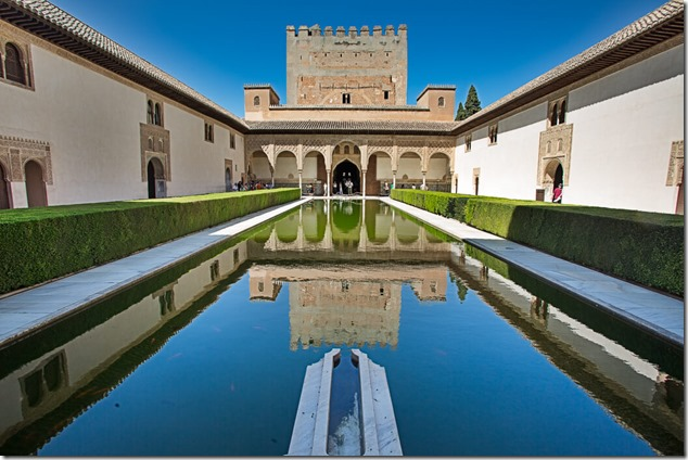 Миртовый дворик, Альгамбра